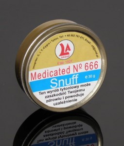 Tabaka Medicated No 666 Snuff 30g