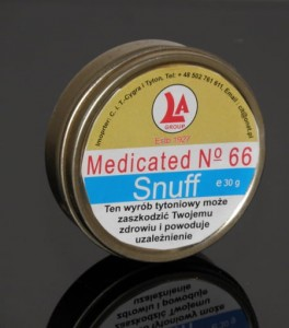 Tabaka Medicated No 66 Snuff 30g