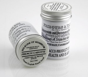 Tabaka Fribourg & Treyer Snuff Est. 1720 French Carotte 25g