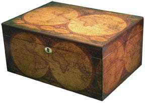 Humidor Old World